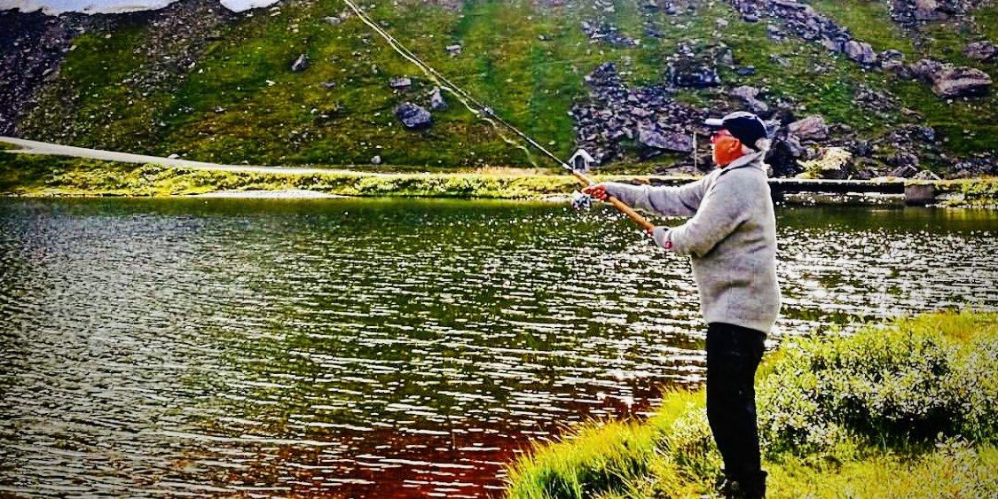 Fisketur på Vikafjell